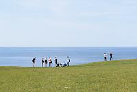 Steilküste bei Kåseberga, Provinz Skåne (Schonen), Schweden, Europa<br /> cliff coast near Kåseberga, province Skåne, Sweden