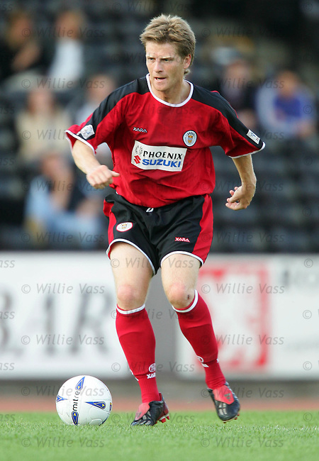 Ricky Gillies, St Mirren.stock season 2004-2005.pic willie vass