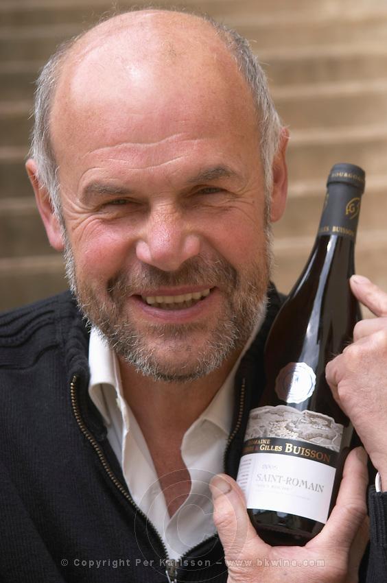 Gilles Buisson owner dom h & g buisson st romain cote de beaune burgundy france