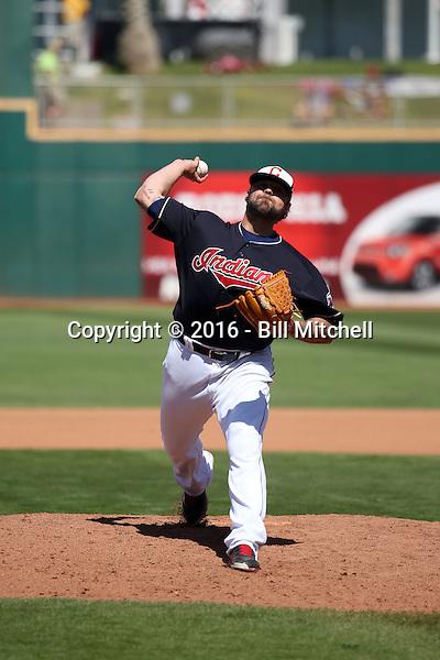 Joba Chamberlain - Cleveland Indians 2016 spring training (Bill Mitchell)