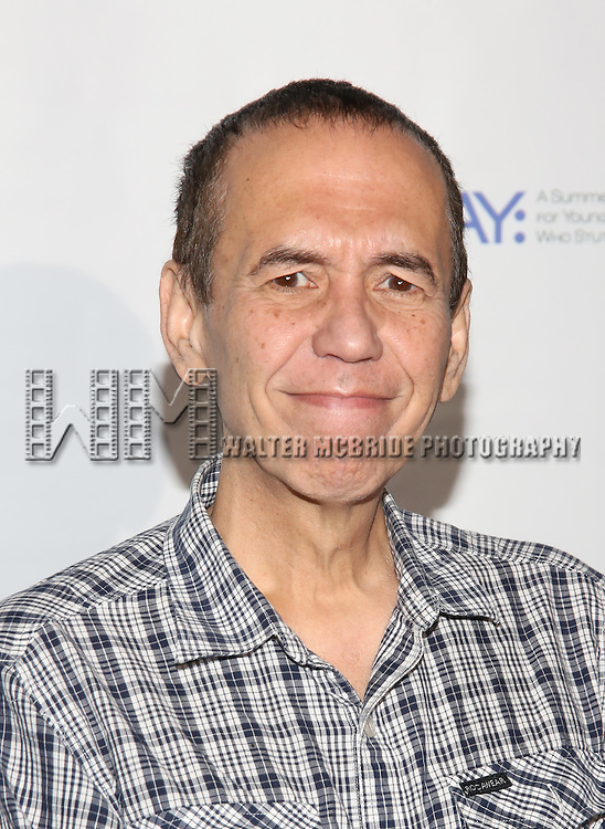Gilbert Gottfried attends the 5th Annual Paul Rudd All-Star Bowling Benefit for (SAY) at Lucky Strike Lanes on February 13, 2017 in New York City.
