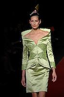 Palestine Fashion Designer Jamal Taslaq  featured at Rome Fashion Week,Fashion show. Presentation of S/S 2013.Italian Haute Couture collection, January 28, 2013