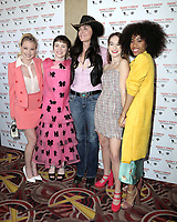 "LOS ANGELES - MAR 10:  Laura Slade Wiggins,  Sophia Lillis, Katt Shea,  Mackenzie Graham, Zoe Renee at the ""Nancy Drew And The Hidden Staircase"" World Premiere at the AMC Century City 15 on March 10, 2019 in Century City, CA"