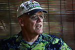 "Keith Soukkala, 68, of Warrenton, Ore., served as a Marine in the Vietnam War from May 1968 to June 1969. He first returned to Da Nang, Vietnam five years ago because he wanted to see how the country had changed since the war. Drafted after college, Soukkala joined the Marines ""instead of letting the Army get me"" and was commissioned as a second lieutenant. But he describes himself as a reluctant warrior. ""I was trained well, but I didn't like it over here,"" he says. ""I didn't like hunting people. That's what we were sent over here to do, was to kill people."" Soukkala returned to Vietnam in 2008 after a war buddy raised money to build a school near their old base, and he  has come back every year since then. He usually stays several months and spends part of his time volunteering to help with logistics for a group of Alaskan dentists who work each year in remote villages. Soukkala has been humbled by how well he's been received as a U.S. war veteran, especially by former North Vietnamese and Viet Cong soldiers. ""I never see any animosity from them,"" he says, of his former enemies. ""In fact, they just seem real happy that we're here."" Feb. 11, 2013."