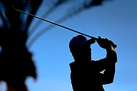Matthieu Pavon (FRA) during the 2nd round of the Abu Dhabi HSBC Championship, Abu Dhabi Golf Club, Abu Dhabi,  United Arab Emirates. 17/01/2020<br /> Picture: Fran Caffrey   Golffile<br /> <br /> <br /> All photo usage must carry mandatory copyright credit (© Golffile   Fran Caffrey)