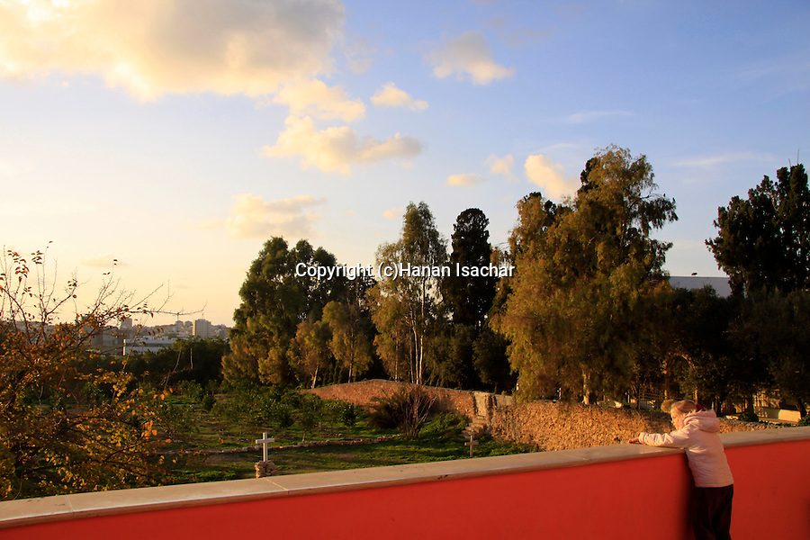 Israel, Tel Aviv-Yafo, Russian Orthodox Church of St. Peter and St. Tabitha in Jaffa