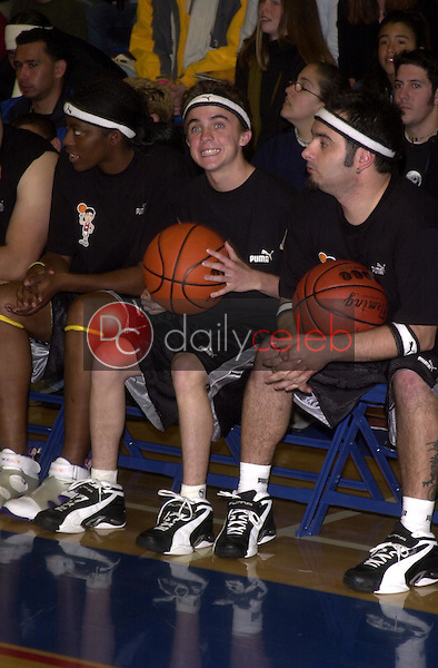 Frankie Muniz and Chris Kirkpatrick