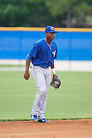 Toronto Blue Jays Jesus Severino (46) during an instructional league game against the Philadelphia Phillies on September 28, 2015 at the Englebert Complex in Dunedin, Florida.  (Mike Janes/Four Seam Images)