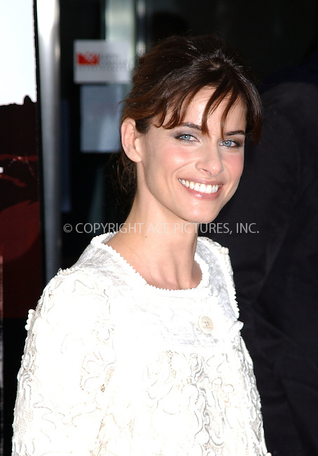 """WWW.ACEPIXS.COM . . . . .....November 20 2005, New York City....AMANDA PEET....Red Carpet Arrivals for the Warner Bros. Pictures US premiere of """"Syriana"""" at the Loews Lincoln Square theatre.......  ....Please byline: Kristin Callahan - ACE PICTURES..... *** ***..Ace Pictures, Inc:  ..Philip Vaughan (212) 243-8787 or (646) 769 0430..e-mail: info@acepixs.com..web: http://www.acepixs.com"""