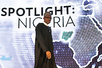 President of Nigeria Muhammadu Buhari arrives to speak at the U.S.-Africa Business Forum at the Plaza Hotel, September 21, 2016 in New York City. The forum is focused on trade and investment opportunities on the African continent for African heads of government and American business leaders. <br /> Credit: Drew Angerer / Pool via CNP /MediaPunch