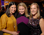 Katie Wynn, Sally Dillee and Liz Dinerstein at the Fall Fashion show at the Galleria Thursday  Oct. 16,2008. (Dave Rossman/For the Chronicle)