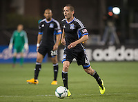 March 10th, 2013: San Jose Earthquakes vs New York Red Bulls soccer match at Buck Shaw Stadium, Santa Clara, Ca.   Earthquakes defeated Red Bulls 2-1
