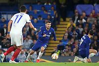 Mateo Kovacic of Chelsea races upfield during Chelsea vs MOL Vidi, UEFA Europa League Football at Stamford Bridge on 4th October 2018