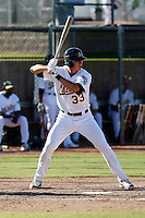 Ryan Ortiz - Oakland Athletics 2009 Instructional League. .Photo by:  Bill Mitchell/Four Seam Images..