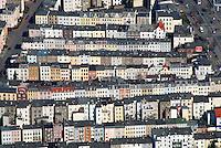 Stadtwohnung: EUROPA, DEUTSCHLAND, SCHLESWIG- HOLSTEIN,  (GERMANY), 27.03.2007: Sankt Lorenz Nord, Stadtbild, Stadt, Haus, Haeuser, Kette, viel, reihe, Reihenhaus, Sozialer Wohnungsbau, Wohnung, Bau, Brolingstrasse, Warendropstrasse, Schwartauer Allee, Friedenstrasse, Flaechenverbrauch, dicht, Brennpunkt, Luftbild, Luftaufnahme, Luftansicht.c o p y r i g h t : A U F W I N D - L U F T B I L D E R . de.G e r t r u d - B a e u m e r - S t i e g 1 0 2, 2 1 0 3 5 H a m b u r g , G e r m a n y P h o n e + 4 9 (0) 1 7 1 - 6 8 6 6 0 6 9 E m a i l H w e i 1 @ a o l . c o m w w w . a u f w i n d - l u f t b i l d e r . d e.K o n t o : P o s t b a n k H a m b u r g .B l z : 2 0 0 1 0 0 2 0  K o n t o : 5 8 3 6 5 7 2 0 9.C o p y r i g h t n u r f u e r j o u r n a l i s t i s c h Z w e c k e, keine P e r s o e n l i c h ke i t s r e c h t e v o r h a n d e n, V e r o e f f e n t l i c h u n g n u r m i t H o n o r a r n a c h M F M, N a m e n s n e n n u n g u n d B e l e g e x e m p l a r !.