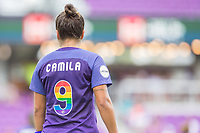 Orlando, FL - Saturday June 24, 2017: Camila during a regular season National Women's Soccer League (NWSL) match between the Orlando Pride and the Houston Dash at Orlando City Stadium.