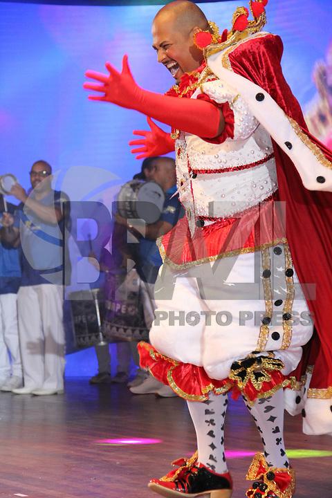 SÃO PAULO,SP, 08.02.2019 - CARNAVAL-SP - Eleição da Corte do Carnaval de São Paulo 2019, definiu como Rei Momo Fábio Rocha no Auditório Elis Regina localizado na zona norte de São Paulo na noite desta sexta-feira, 08. (Foto:Nelson Gariba/Brazil Photo Press/Folhapress)