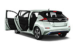Car images close up view of a 2018 Nissan Leaf SV 5 Door Hatchback doors