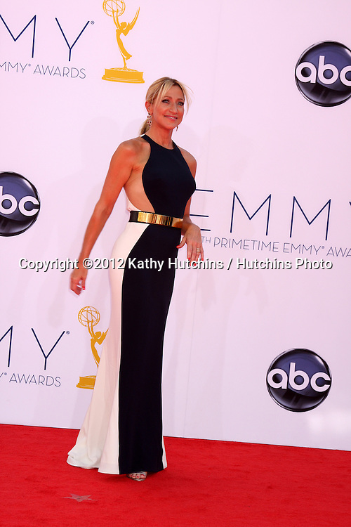 LOS ANGELES - SEP 23:  Edie Falco arrives at the 2012 Emmy Awards at Nokia Theater on September 23, 2012 in Los Angeles, CA