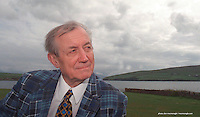 Russian poet Yevgeny Yevtushenko at Feile na Bealtaine.<br /> Picture Don MacMonagle, Killarney