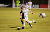 Carson, CA -  July 14, 2017: In the 2016-17 U.S. Soccer Development Academy U-17/18 Semi Finals LA Galaxy vs Seattle Sounders FC at StubHub center.