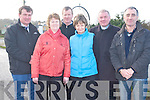 Currow Rural  Development have a begun a major project to upgrade the local bridge to help enhance the local village. .Front L-R Mary O'Loughlin, Eileen O'Shea and Cllr John Joe Culloty. .Back L-R Cllr JOhn Sheahan, chairman of Currow Rural Devleopment Peter O'Connor and Fr Nicholas Flynn.