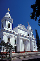 Cathedral in the town of Alajuela, Costa Rica