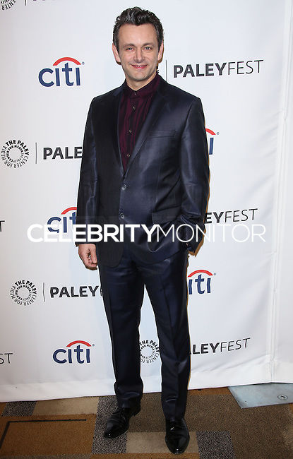 """HOLLYWOOD, LOS ANGELES, CA, USA - MARCH 24: Michael Sheen at the 2014 PaleyFest - """"Masters of Sex"""" held at Dolby Theatre on March 24, 2014 in Hollywood, Los Angeles, California, United States. (Photo by Celebrity Monitor)"""