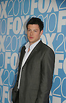 Cory Monteith stars in GLEE as he attends the FOX 2010 Programming Presentation (Upfronts) Post-Party on May 18, 2010 at Wollman Rink in Central Park, New York City, New York.  (Photo by Sue Coflin/Max Photos)