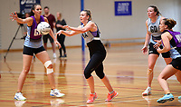 13.12.2017 Gina Crampton in action during traning at the Silver Ferns trails in Auckland. Mandatory Photo Credit ©Michael Bradley.