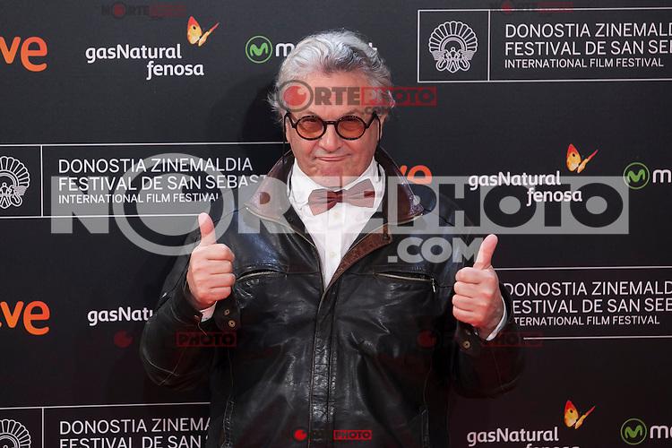 Movie director George Miller poses before 63rd Donostia Zinemaldia opening ceremony (San Sebastian International Film Festival) in San Sebastian, Spain. September 18, 2015. (ALTERPHOTOS/Victor Blanco) /NortePhoto.com