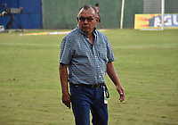 MONTERÍA - COLOMBIA ,04-11-2018: José Luis Bernal director técnico del Rionegro ante Jaguares de Córdoba durante partido por la fecha 18 de la Liga Águila II 2018 jugado en el estadio Municipal Jaraguay de Montería . / Jose Luis Bernal coach of  Rionegro  agaisnt of Jaguares of Cordoba during the match for the date 18 of the Liga Aguila II 2018 played at Municipal Jaraguay Satdium in Monteria City . Photo: VizzorImage /Andrés Felipe López  / Contribuidor.