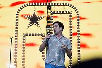 BELO HORIZONTE, MG, 02.11.2013 - CIRCUITO BANCO DO BRASIL - A banda mineira Jota Quest durante apresentacao no Circuito Banco do Brasil no Mega Space em Belo Horizonte, neste sabado, 02. (Foto: Marcos Fialho / Brazil Photo Press).