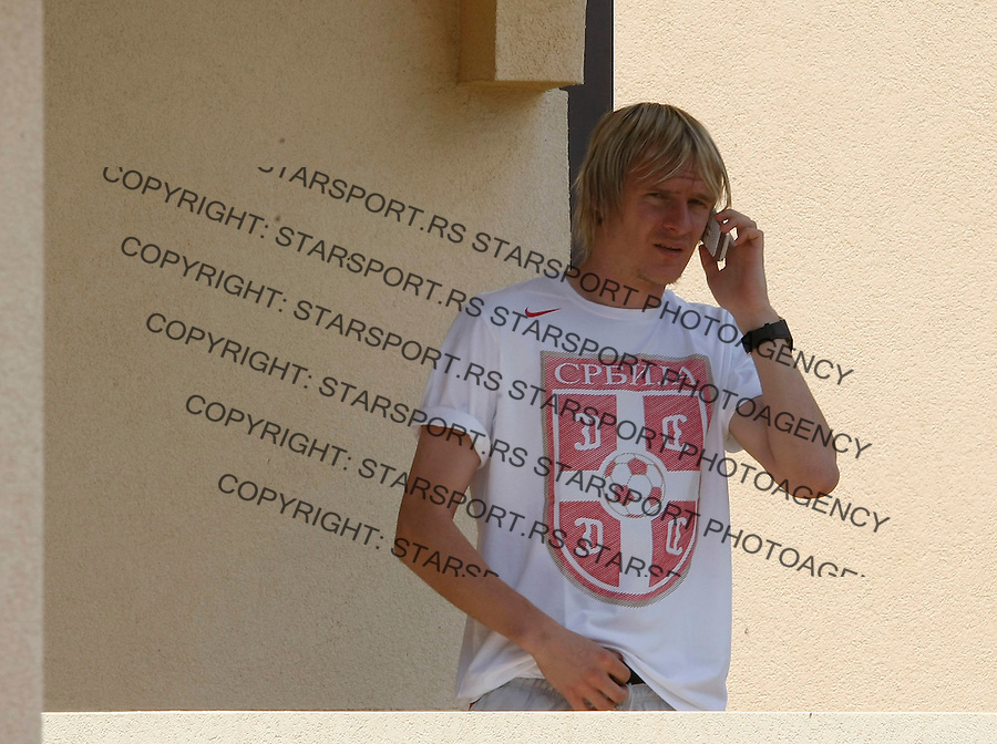 Fudbal, pripreme za WORLD CUP 2010.Reprezentacija Srbije,. pripreme za WORLD CUP 2010 South Africa.Milos Krasic.Belgrade, 24.05.2010..foto: Srdjan Stevanovic/Starsportphoto ©