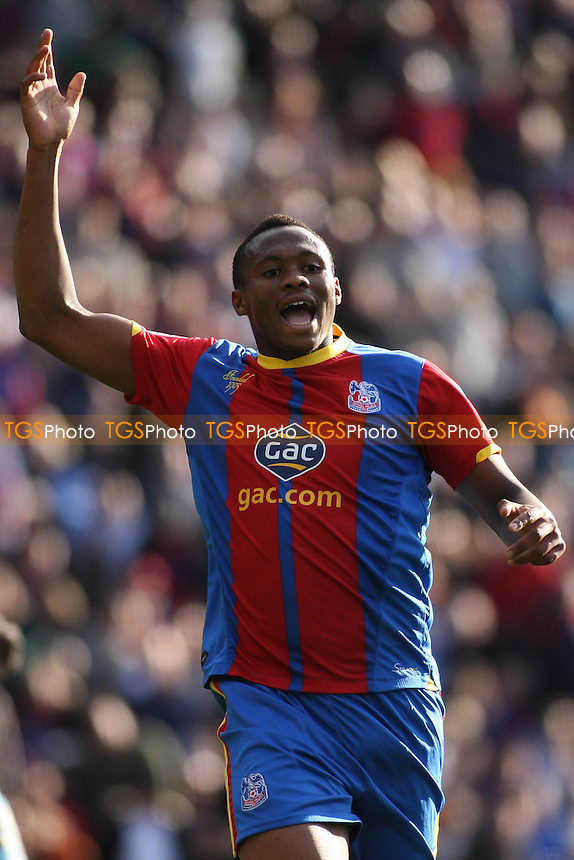 Kagisho Dikgacoi of Crystal Palace- Crystal Palace vs Burnley - NPower Championship Football at Selhurst Park, London - 06/10/12 - MANDATORY CREDIT: George Phillipou/TGSPHOTO - Self billing applies where appropriate - 0845 094 6026 - contact@tgsphoto.co.uk - NO UNPAID USE.