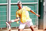 Colombia's Alejandro Hoyos during Junior Davis Cup 2015 match. September  30, 2015.(ALTERPHOTOS/Acero)