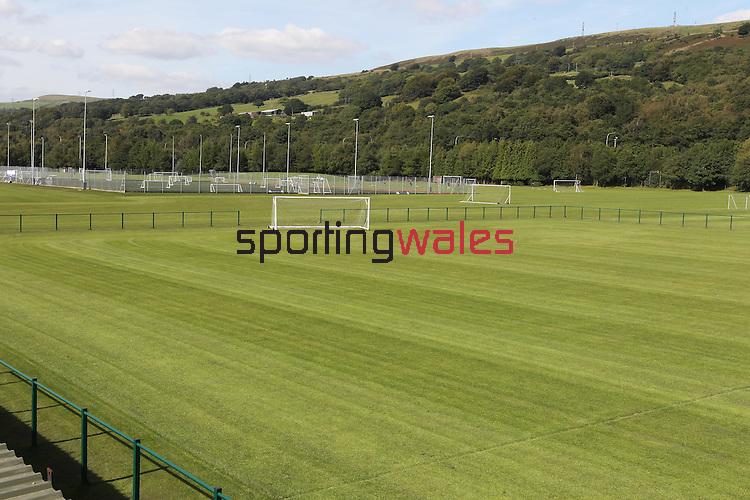 Welsh Football Grounds.©Steve Pope...Welsh Football Grounds.University of Glamorgan Playing Fields..31.08.10.©Steve Pope.