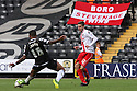 Robin Shroot of Stevenage sets up James Dunne for the winner<br />  - Notts County v Stevenage - Sky Bet League One - Meadow Lane, Nottingham - 24th August 2013<br /> © Kevin Coleman 2013