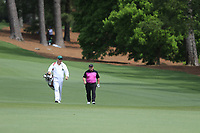 Ian Woosnam (WAL) on the 2nd fairway during the 2nd round at the The Masters , Augusta National, Augusta, Georgia, USA. 12/04/2019.<br /> Picture Fran Caffrey / Golffile.ie<br /> <br /> All photo usage must carry mandatory copyright credit (© Golffile | Fran Caffrey)