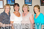 Breda Moynihan Camp, Eileen Carmody, Mary McQuinn Tralee and Maureen Hartnett Listowel having fun at the INO banquet in the INEC on Friday night