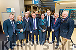 Pictured at the launch of Bank of Ireland Tralee Enterprise Week on Wednesday, March 22nd last were l-r: Tom Keane, Liz Leen, Ted Moynihan (Kerry Person of the Year), Gerry Enright (Manager, Bank of Ireland), Caitriona O'Mahony, Chris Murray, Ogie Moran and Billy Nolan.