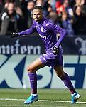 CD Leganes' Youssef En-Nesyri celebrates goal during La Liga match. November 23,2019. (ALTERPHOTOS/Acero)