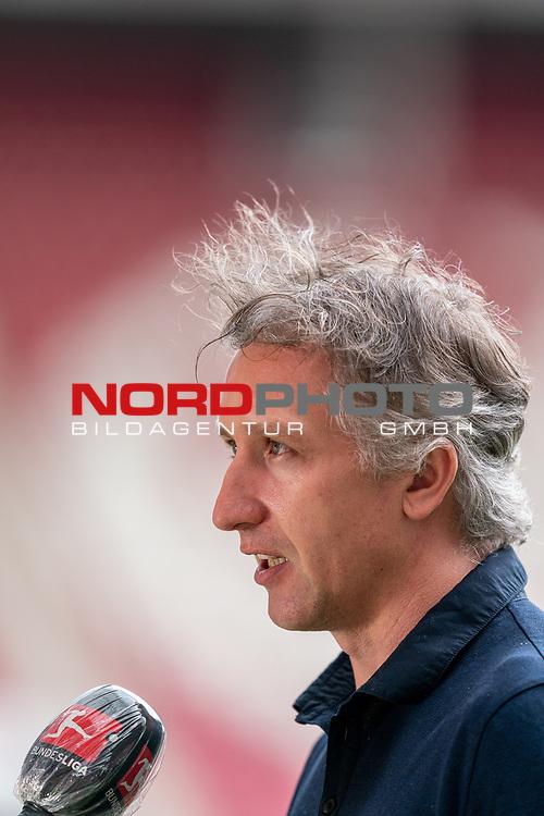 Frank Baumann (Geschäftsführer Fußball Werder Bremen)<br /> <br /> <br /> Sport: nphgm001: Fussball: 1. Bundesliga: Saison 19/20: 33. Spieltag: 1. FSV Mainz 05 vs SV Werder Bremen 20.06.2020<br /> <br /> Foto: gumzmedia/nordphoto/POOL <br /> <br /> DFL regulations prohibit any use of photographs as image sequences and/or quasi-video.<br /> EDITORIAL USE ONLY<br /> National and international News-Agencies OUT.