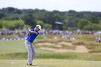 Zach Johnson (USA) tees off the 7th tee during Friday's Round 2 of the 117th U.S. Open Championship 2017 held at Erin Hills, Erin, Wisconsin, USA. 16th June 2017.<br /> Picture: Eoin Clarke | Golffile<br /> <br /> <br /> All photos usage must carry mandatory copyright credit (&copy; Golffile | Eoin Clarke)