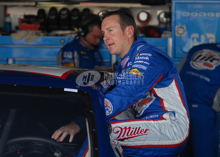 Jun 1, 2007; Dover, DE, USA; Nascar Nextel Cup Series driver Kurt Busch (2) during practice for the Autism Speaks 400 at Dover International Speedway. Mandatory Credit: Mark J. Rebilas-US PRESSWIRE Copyright © 2007 Mark J. Rebilas..