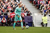 7th March 2020; Wanda Metropolitano Stadium, Madrid, Spain; La Liga Football, Atletico de Madrid versus Sevilla; Jan Oblak (Atletico de Madrid)  in action during the match