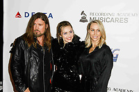 LOS ANGELES, CA - FEBRUARY 08: Billy Ray Cyrus, Miley Cyrus, Tish Cyrus at the MusiCares Person of the Year Tribute held at Los Angeles Convention Center, West Hall on February 8, 2019 in Los Angeles, California. <br /> CAP/MPI/IS<br /> &copy;IS/MPI/Capital Pictures