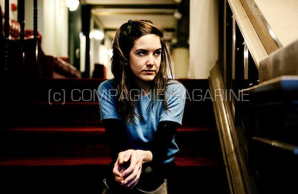 Flemish actress Wine Dierickx (Belgium, 02/02/2010)