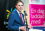 BRUSSELS - BELGIUM - 28 November 2016 -- Inauguration of the Nordic Energy Office. Jyrki Katainen, Vice-president of the European Commission, responsible for Jobs, Growth, Investment and Competitiveness.--  -- PHOTO: Juha ROININEN / EUP-IMAGES