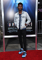 "11 April 2019 - Westwood, California - Niles Fitch. ""Breakthrough"" Los Angeles Premiere held at Regency Village Theater. Photo Credit: Birdie Thompson/AdMedia"